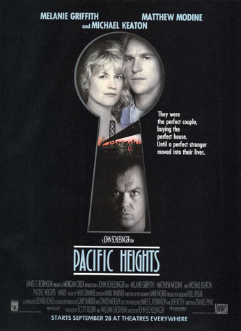 Pacific Heights movie poster